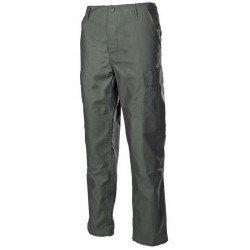Ловен панталон MFH BDU, зелен, подсилени колена и дъно