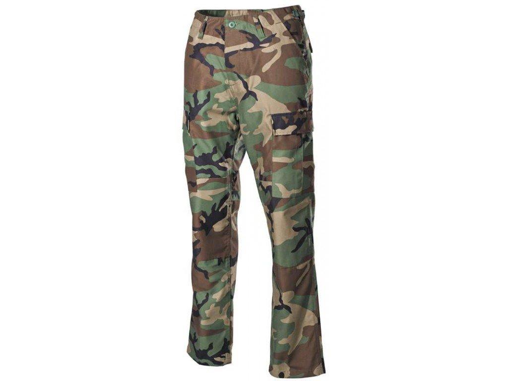 Панталон MFH US Combat Pants BDU, woodland, подсилени колена и дъно