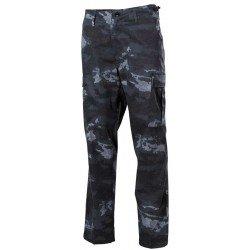 Тактически панталон MFH US Combat Pants, BDU, HDT camo grey