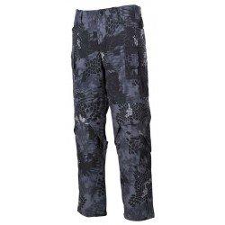 Панталон, боен, тип MFH Mission,  snake black