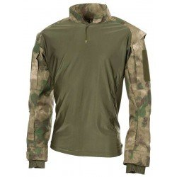 АНОРАК MFH US TACTICAL SHIRT, HDT-camo green