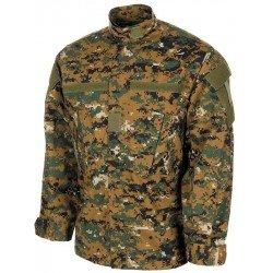 Риза бойно облекло - ACU Style - Рипстоп, digital woodland
