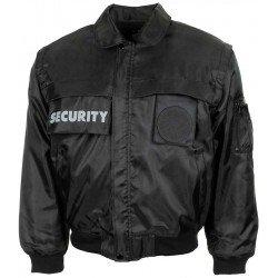 """Водоустойчиво яке, """"Security"""", Черно"""