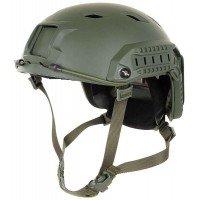 "Каска US тип, ""FAST-paratroopers "", OD green, ABS-plastic"