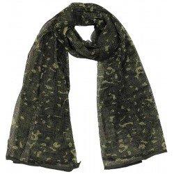 Мрежест шал, BW camo, 190 x 90 cm