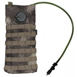 "Хидратиращ пакет MFH ""Molle"",w/ drinking cup 2,5 l, HDT camo"