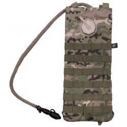 Хидратиращ пакет MFH Molle,w/ drinking cup 2,5 l, Operation camo