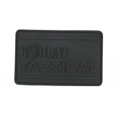 Велкро Пач Kombat PVC Tactical  - Black