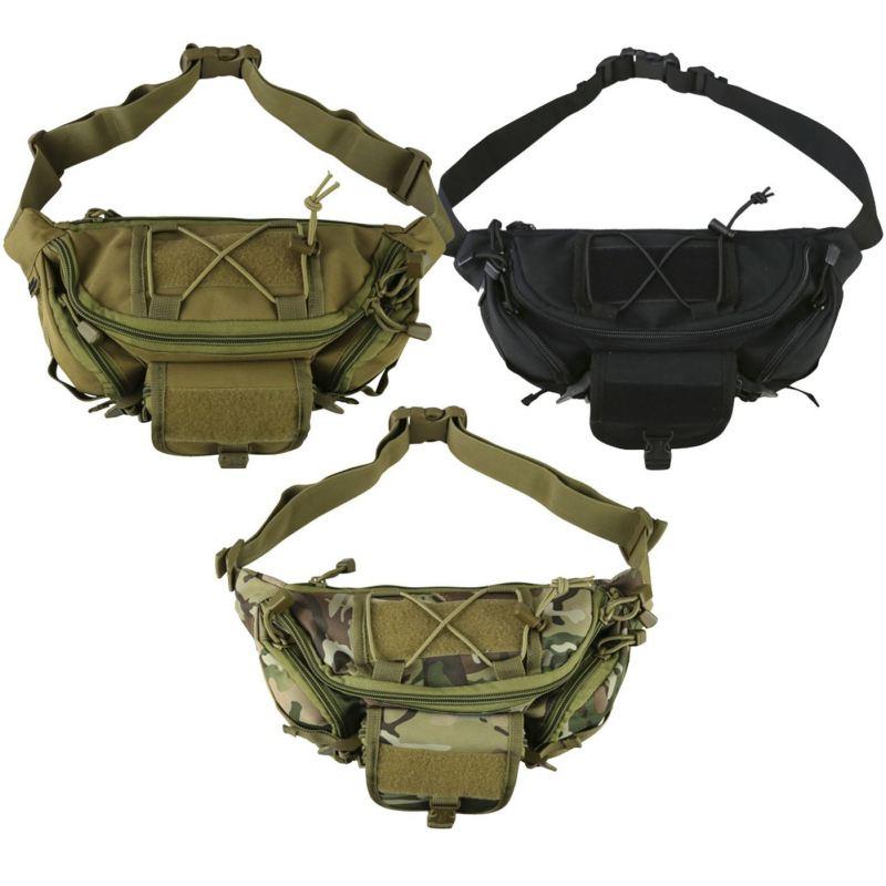 Тактическа чанта за кръста - различни цветове