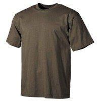 Камуфлажна тениска MFH, класическа кройка, зелена