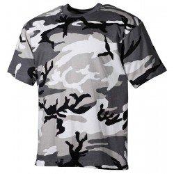 Камуфлажна тениска MFH, класическа кройка, Urban