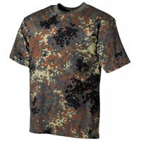 Камуфлажна тениска MFH, класическа кройка, BW camo