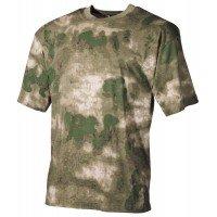 Камуфлажна тениска MFH, класическа кройка, HDT camo green
