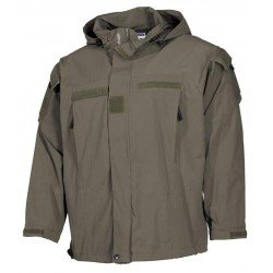 Водоустойчиво яке MFH US Soft Shell Jacket, OD green Level 5, PCU